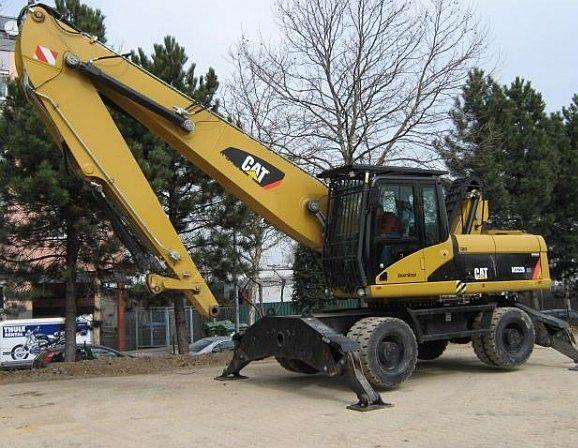 Used and new Wheeled excavators - MachineryZone Europe