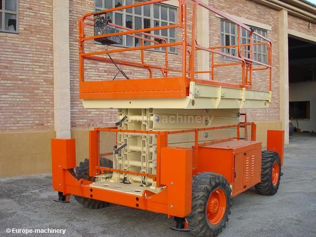 Used and new self propelled booms machineryzone europe self propelled platform fandeluxe Images