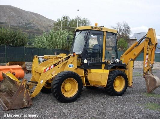 Articulated backhoe
