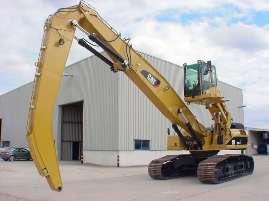 Used Cat Wheel Excavator For Sale In Europe